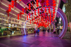 Colourful walkway in SHenzhen, China Stock Photo