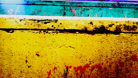 Colourful wall Royalty Free Stock Photos
