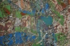 Colourful wall texture Stock Photos