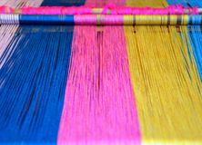 Colourful Weaving Royalty Free Stock Image