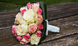 Colourful wedding bouquet Stock Photo