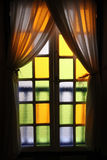 Colourful window Royalty Free Stock Photography