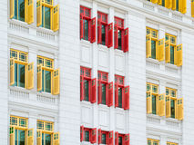 Colourful Windows Royalty Free Stock Photography
