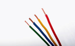 Colourful wire Stock Photography
