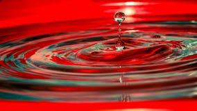 Colourful wodnej kropelki fotografii pomys?y dla domu zdjęcie royalty free
