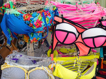 Colourful Womens Swimwear Royalty Free Stock Images