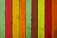Colourful wood background Stock Photography