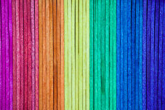 Colourful wood background Royalty Free Stock Photos