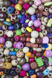 Colourful Wooden Beads Royalty Free Stock Photos