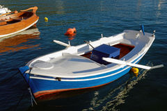 Colourful Wooden Row Boat, Greece Royalty Free Stock Images
