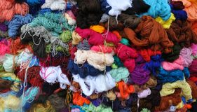 Colourful Wool Stock Photos