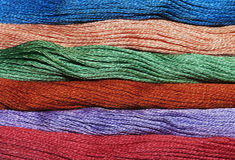 Colourful Wool Royalty Free Stock Photography