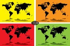 Colourful world Stock Photos