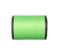 Colourful zielona nić odizolowywająca na bielu Zdjęcia Stock