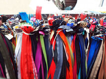 Colourful Zippers Royalty Free Stock Image