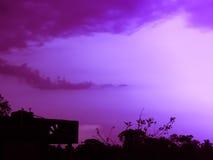 Colourful zmierzchu niebo Obraz Stock