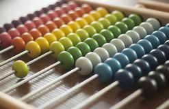 Colorfull Abacus royalty free stock image