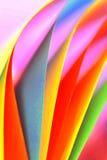 colourfull abstrakcjonistyczny papier Fotografia Royalty Free