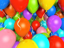 Colourfull balloons Stock Photo