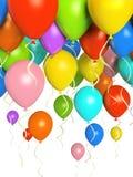 Colourfull balloons Stock Photos