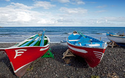 Colourfull boats Royalty Free Stock Image
