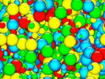 Colourfull bubbles texture Royalty Free Stock Photography