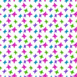 Colourfull Butterflies Seamless Background Royalty Free Stock Photo