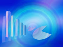 Colourfull economy background Stock Photo