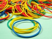 Colourfull gummiband Fotografering för Bildbyråer