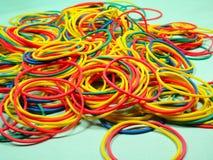 Colourfull gummiband Royaltyfri Fotografi