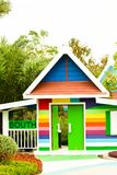 Colourfull home and garden Royalty Free Stock Image