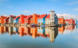 Colourfull houses Stock Photos