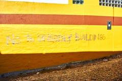 Colourfull-housses BO-kaap in der Nachbarschaft Cape Town stockbild