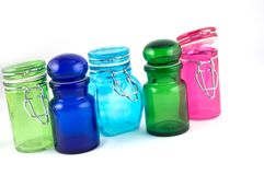 Colourfull Jars Stock Photo