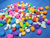 Colourfull kamień Zdjęcia Royalty Free