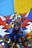 Colourfull kostium Zdjęcia Stock