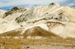 Colourfull mountains and desert Stock Photography