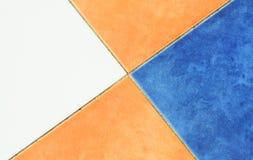 Colourfull paving stone pattern Stock Image