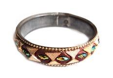 Colourfull ring macro isolated stock photo