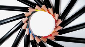 Colourfull spirala Obrazy Royalty Free