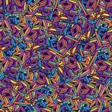 Colourfull squermodell Arkivfoto