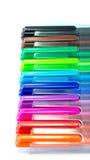 Colourfull-Stiftkappe Stockbild