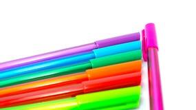 Colourfull-Stiftkappe Lizenzfreies Stockfoto