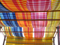 Colourfull thai silk Royalty Free Stock Photography