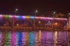 Colourfull vatten Arkivbilder
