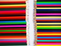 Colourfully crayon Stock Photos
