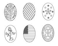 Colouring book. With Easter theme stock illustration
