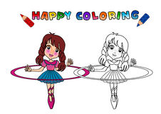 Colouring book isolated Stock Photo