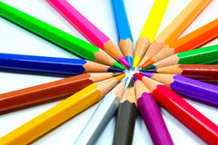 Colouring Crayon Pencils Royalty Free Stock Photography