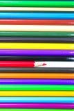Colouring crayon pencils Royalty Free Stock Photos